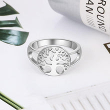 Load image into Gallery viewer, Tree of Life 925 Sterling Silver Ring