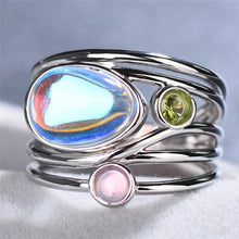 Load image into Gallery viewer, Wrapped Stone Ring