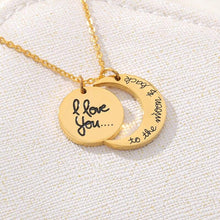 Load image into Gallery viewer, I Love You to the Moon & Back Necklace