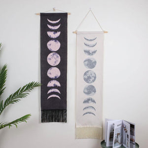 Moon Phase Wall Hanging Tapestry