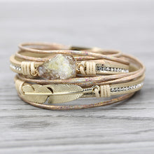 Load image into Gallery viewer, Multilayer Druzy Bracelet