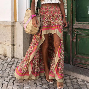 Boho Hi-Low Skirt
