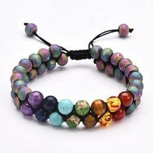 Load image into Gallery viewer, Chakra Energy Stone Bracelet