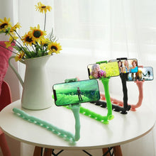 Load image into Gallery viewer, Caterpillar Phone Holder Flexible Suction Cup Stand