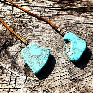 Turquoise Wrap Around Necklace
