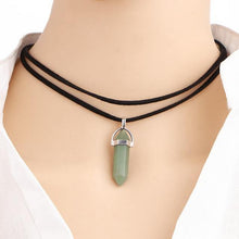 Load image into Gallery viewer, Crystal Point Multi-layer Necklace