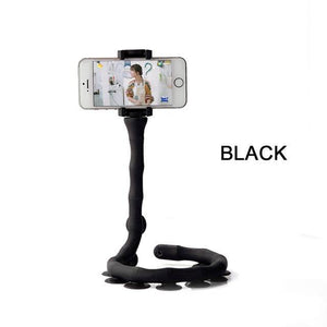 Caterpillar Phone Holder Flexible Suction Cup Stand