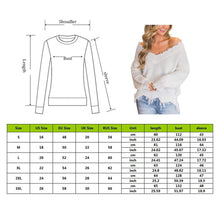 Load image into Gallery viewer, Reversible V Neck Distressed Sweater