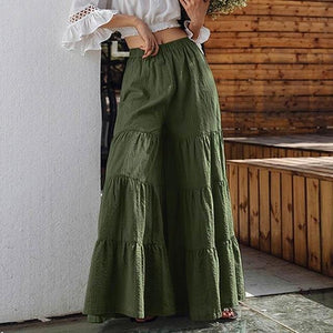 Vintage Wide Leg Trousers