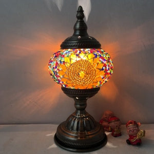 Stained Glass Mosaic Table Lamp