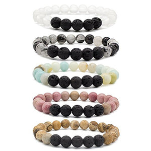 Natural Stone Diffuser Bracelets