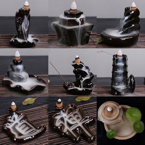 Zenful Backflow Incense Burners