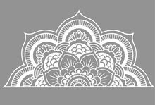 Load image into Gallery viewer, Half Mandala Wall Decal