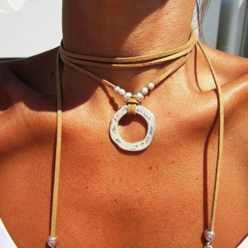 Multi-layer Wrap Necklace