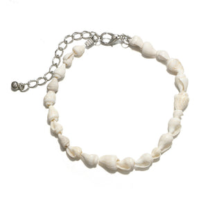Seashell Anklet Pair