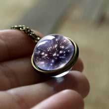 Load image into Gallery viewer, Cosmic Universe Glass Necklaces