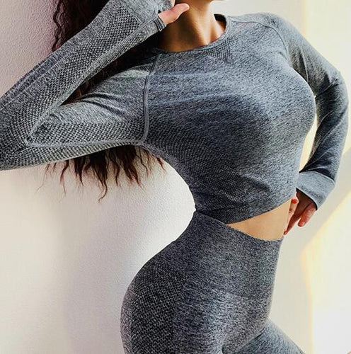 Yoga Crop Top & Leggings
