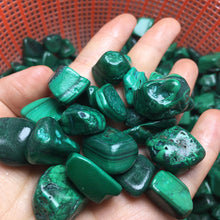 Load image into Gallery viewer, green malachite stone