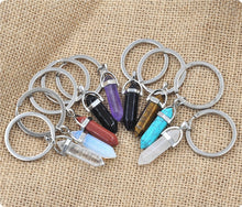 Load image into Gallery viewer, Crystal Point Keychain