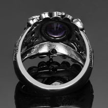 Load image into Gallery viewer, Vintage Amethyst 925 Sterling Silver Ring