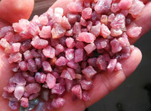 Load image into Gallery viewer, Red Tourmaline Raw Crystals- 100g Bag