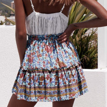 Load image into Gallery viewer, Boho Mini Skirt