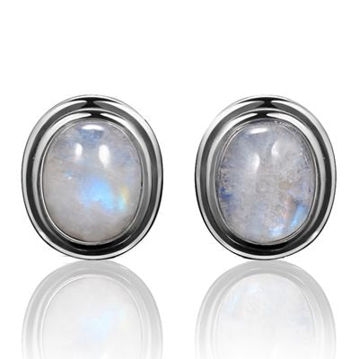 Moonstone 925 Sterling Silver Earrings