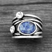 Load image into Gallery viewer, Vintage Natural Stone Ring