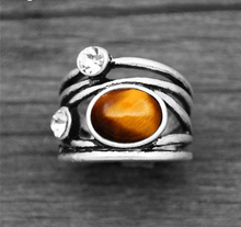 Load image into Gallery viewer, Tiger eye ring