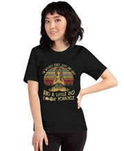 Load image into Gallery viewer, Peace, Love & Light- Unisex T Shirt