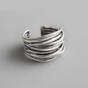 Adjustable Layered Wrap Ring