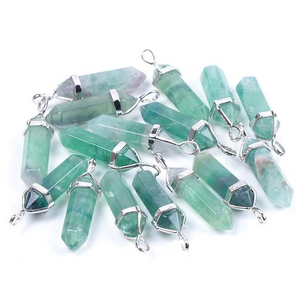 Fluorite Crystal Necklaces