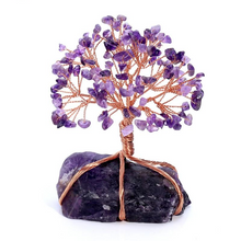 Load image into Gallery viewer, Amethyst Crystal Tree of Life with Amethyst Base