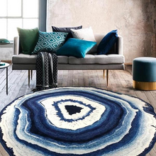 Load image into Gallery viewer, crystal geode rug