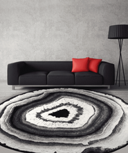 Load image into Gallery viewer, geode slice rug
