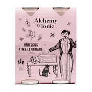 Alchemy & Tonic - Hibiscus Pink Lemonade 250ml 4pk