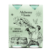 Alchemy & Tonic - Spiced Ginger Ale 250ml 4pk