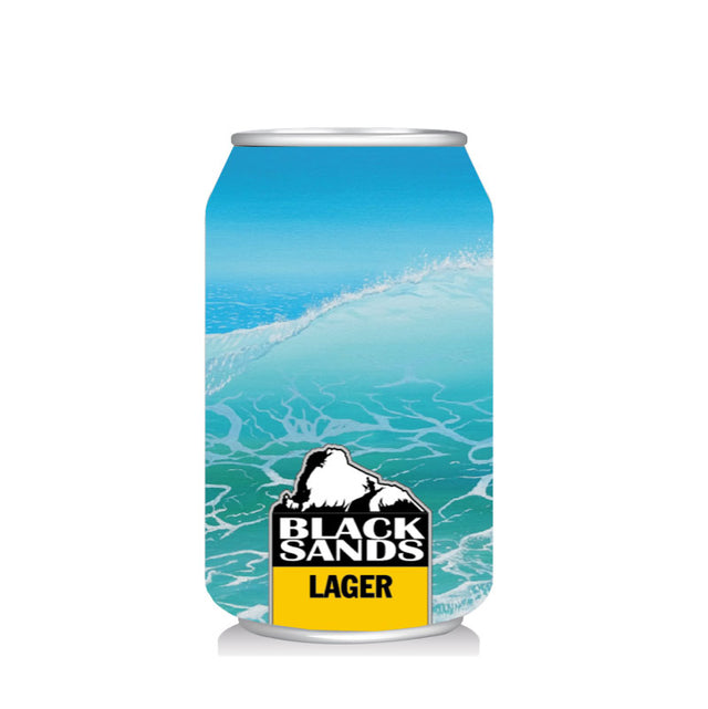 Black Sands Lager : Case of 24 x 330ml Cans