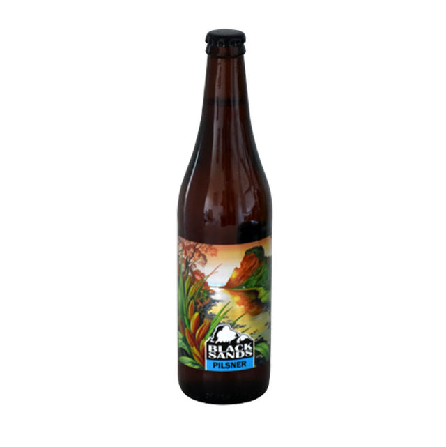 Black Sands Pilsner : Pack of 12 x 500ml Bottles