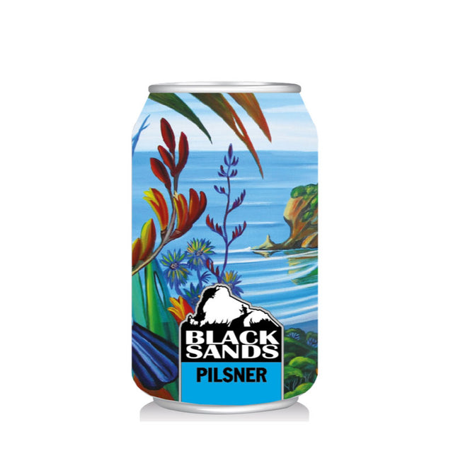 Black Sands Pilsner : Pack of 24 x 330ml Cans