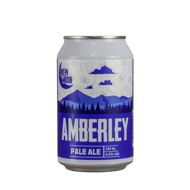 Brew Moon Amberley Pale Ale : Pack of 24 x 330ml Bottles
