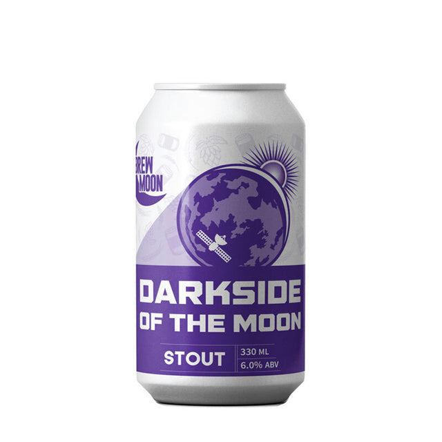 Brew Moon Dark Side of the Moon Stout : Pack of 24 x 330ml Bottles