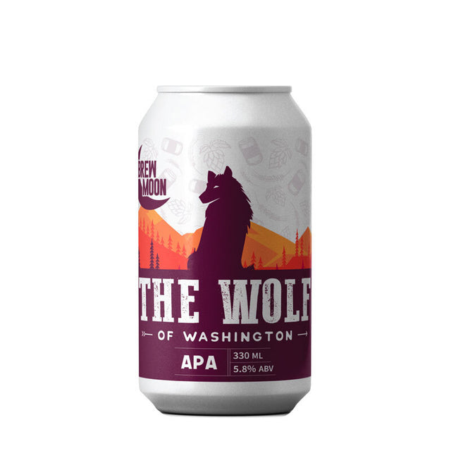 Brew Moon Wolf of Washington APA : Pack of 24 x 330ml Bottles