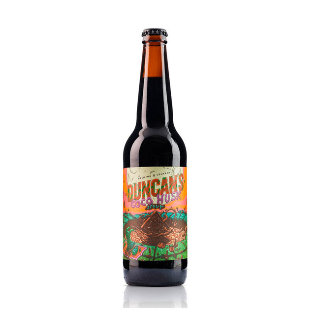 Duncan's Coco Husk Stout : Case of 12 x 330ml Bottles