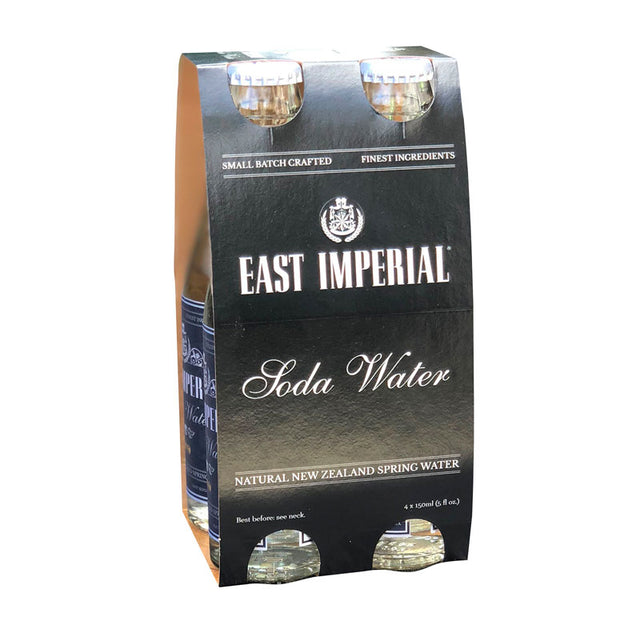 East Imperial Superior Soda Water 150ml 4pk