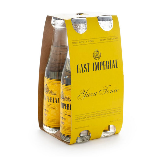East Imperial Yuzu Tonic 150ml 4pk