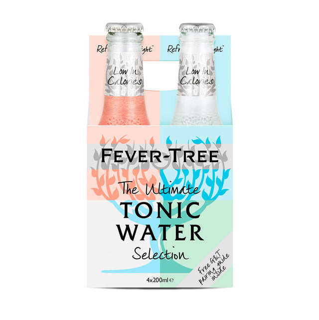 Fever Tree Ultimate Selection Tonic Water 200ml 4pk