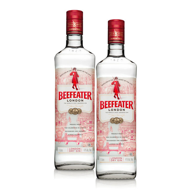 Double Deal : Beefeater London Dry Gin 1000ml
