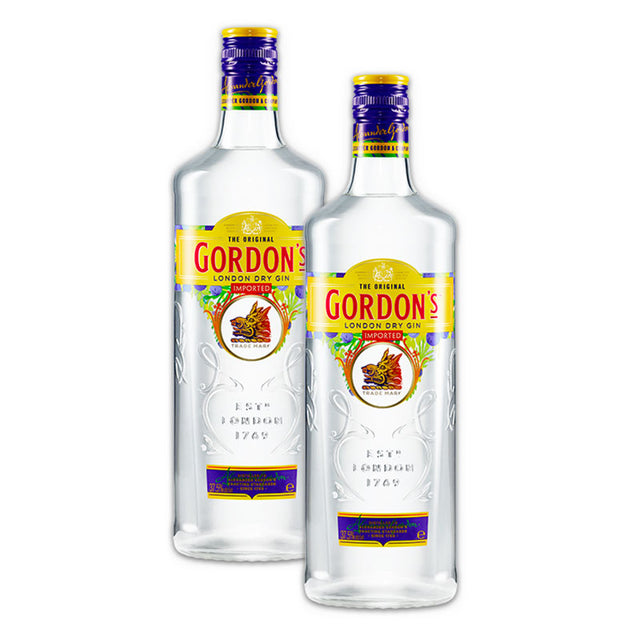 Double Deal : Gordons London Dry Gin 1000ml