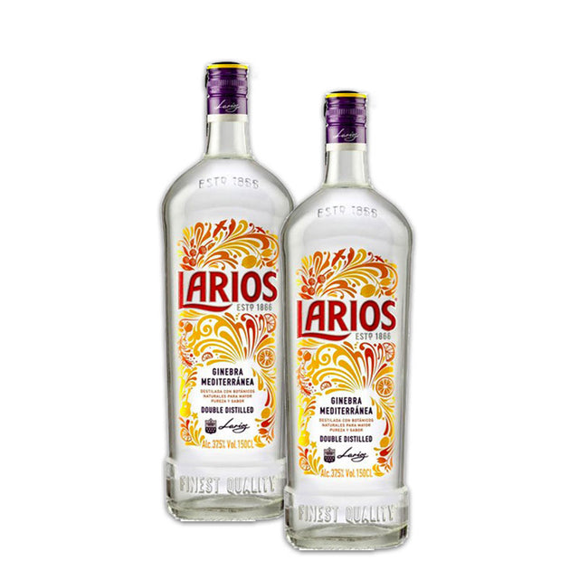 Double Deal : Larios London Dry Gin 1000ml